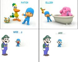 pocoyo and . . . WEEGEE by Nisshoke