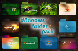 Windows folder pack by lewamora4ok