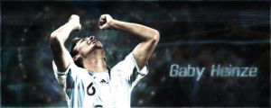 Gabriel Heinze Starfall by IsK4nD3R