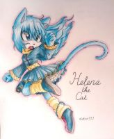 Gift: Helena the Cat by debsie911