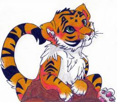 Tiger by Eveeoni