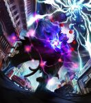 Oni Akuma vs Hulked out Thor by LooAwesome