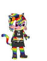 rainbow the tiger by shi562