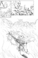 Grim Myths and Legnds #11 Page15 Pencils by CAGutierrez