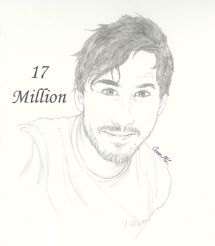 Mark and 17 Million Subs! by AaronML