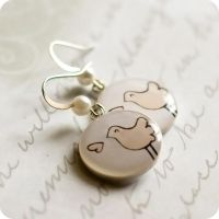 Tweet-Tweet earrings by BeautySpotCrafts