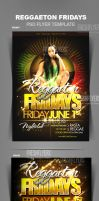 Reggae Party Flyer Templates by ImperialFlyers