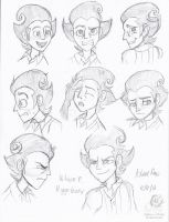 Wilson Expression Doodles by Aileen-Rose