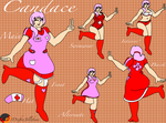 Candace Reference Page by DrifterJellybean