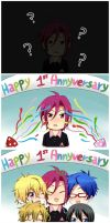 Happy Anniversary Rin-chan by Jelly9614