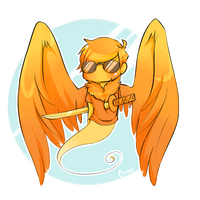 Davesprite : Look adorable. by Chaos-Key