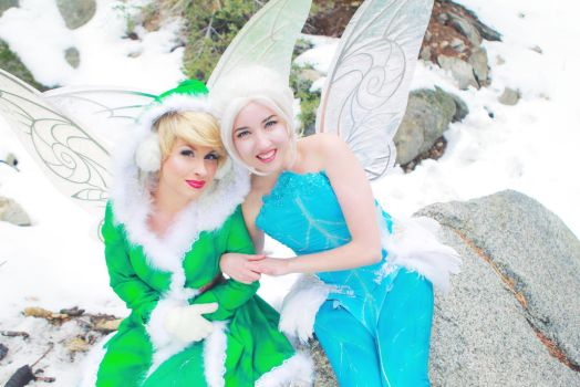 Secret of the Wings Cosplay Tinkerbell Periwinkle by glimmerwood