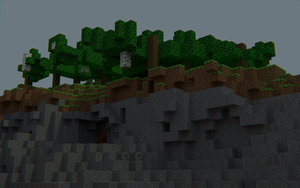 A Stony Cliff by SirSymbolTable