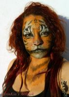 Tiger make up by RerinKin by RerinKin