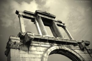 Arch of Hadrian by maremerald