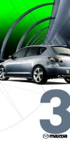 MAZDA3 FLYER by palax