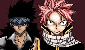 Gajeel and Natsu Team by Ishthak