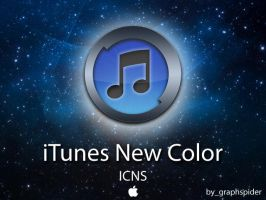 iTunes New Color by graphspider