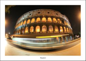 Colosseo in fisheye version by recycleit