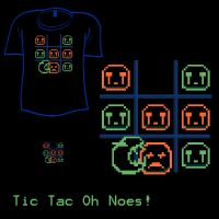 Woot Shirt - Tic Tac OhNoes by fablefire