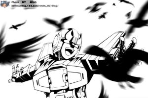 TF-Bird-Bluestreak by also07