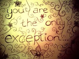 The only exception by elysa88