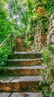 Minneopa Stairs by simpspin
