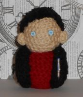 9th Doctor Amigurumi by Craftigurumi