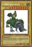 Groundshaker Yu-Gi-Oh Card by Ronnie-R15