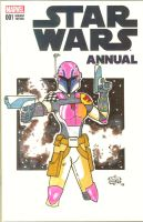 Sabine Wren Sketch Cover - SOLD by GordZee