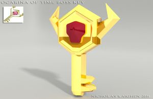 Ocarina of Time Boss Key by nicholasKaighen
