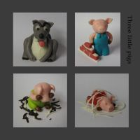 Three little pigs by chocolinda
