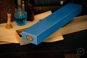 Ollivanders wand box by enguerrand