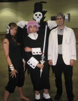 AX Cosplay- Soul Eater Group by Sanctioned