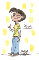 PnF OC - Robert. by Pinky1babe