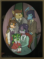 Neopets - Sophie's Family by theonewhodoodles