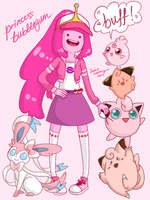 pink overload by bubble-t-e-a