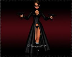 The Matrix Look by chamirra