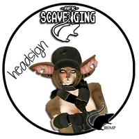 Scavenging head sign :IMVU: by twistedlove