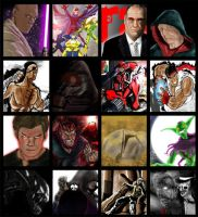 Some of my work by PaulVincent