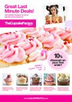 A4 PSD Cupcake Magazine Ad by quickandeasy1
