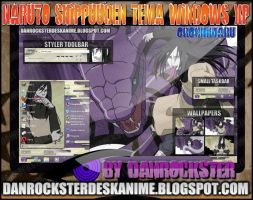 Orochimaru Theme Windows XP by Danrockster