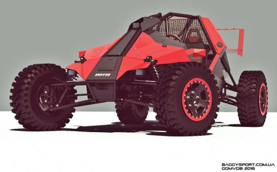 Buggy RAPTOR front view by GGMVDB