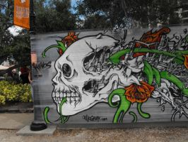 Graffiti Skull by SylviaJones