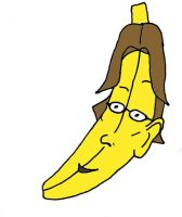 Me as a Banana by DerGrundel