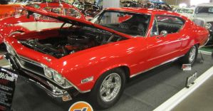 68 Chevy Chevelle SS by zypherion