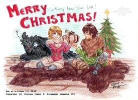 Vikings' Christmas +2010+ by k-tiraam
