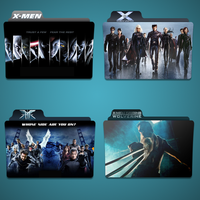 X Movies folder icon Pack by Kliesen