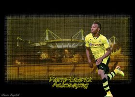 Pierre-Emerick Aubameyang by PanosEnglish