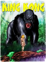 King Kong fan art by LostArno